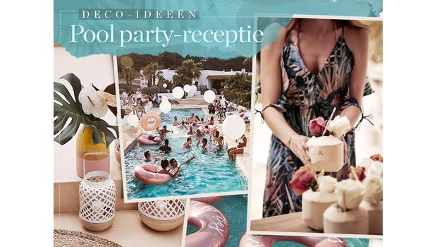 Tropische pool party