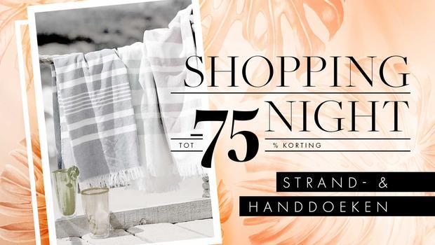 Shopping Night: handdoeken