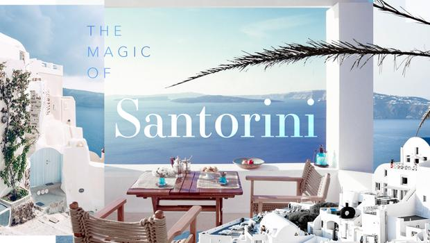 Sunny Santorini