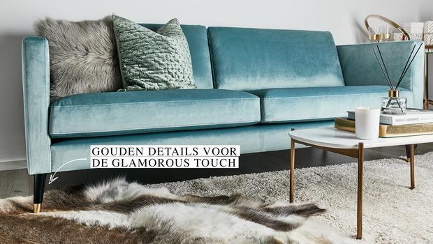 Mid-Century sofa's