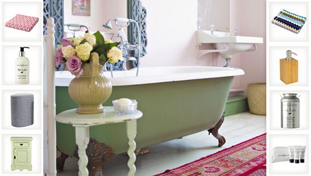 Spring Bathroom