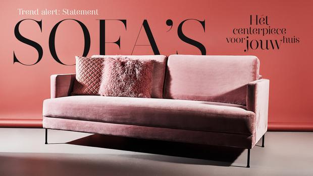 Statement Sofa's