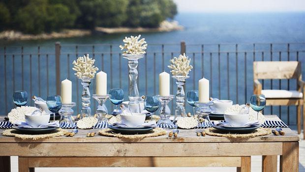 Een maritieme tafel