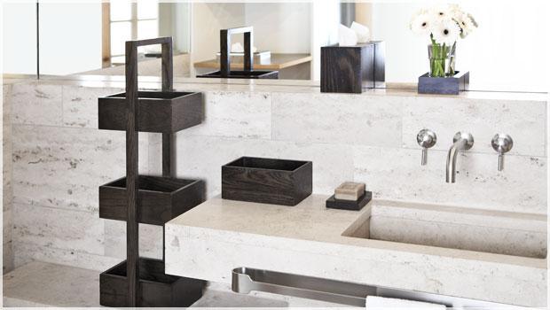 Handdoekenrek Badkamer Hout : Wireworks hout voor de badkamer westwing
