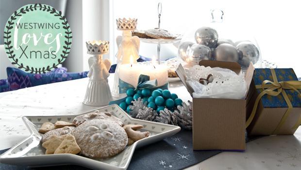 Een vrolijke kerstkeuken!