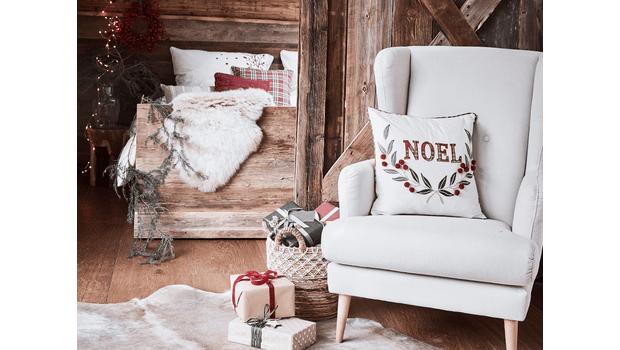 Textiel met een kerstige touch