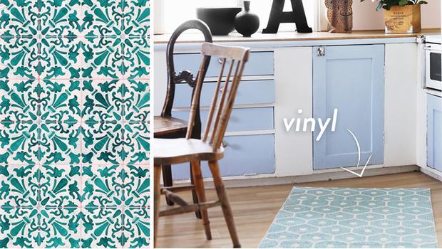 Kleur op de vloer vrolijke vinyl vloerkleden westwing