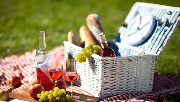 Een zondagse picknick