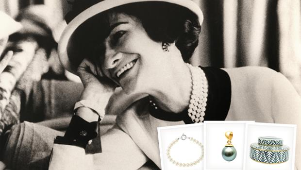 79f09966 Un Hommage a Coco Chanel Parels, deco & kleine meubels ...