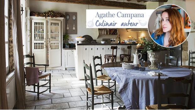 Culinair Auteur Agathe vertelt
