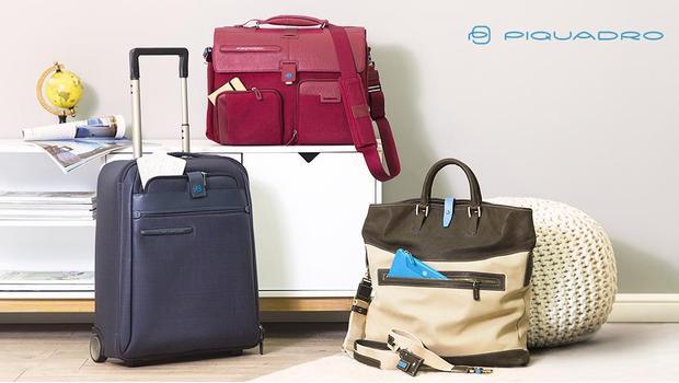 698c03ca95a Piquadro EU Leren tassen, trolley's & hoesjes   Westwing