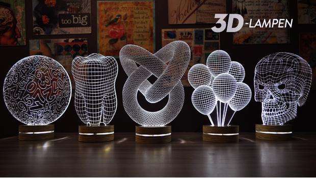3D lampen