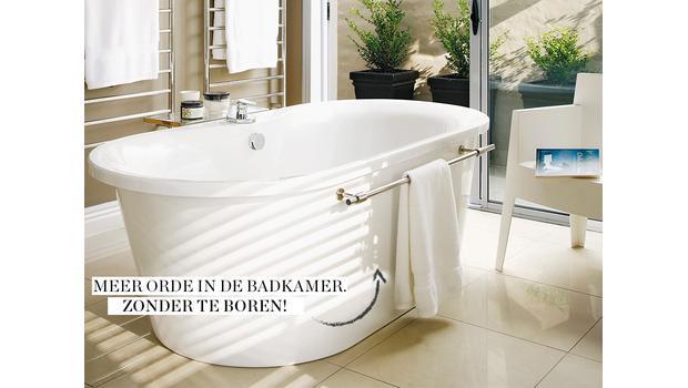 Badkamer zonder boren
