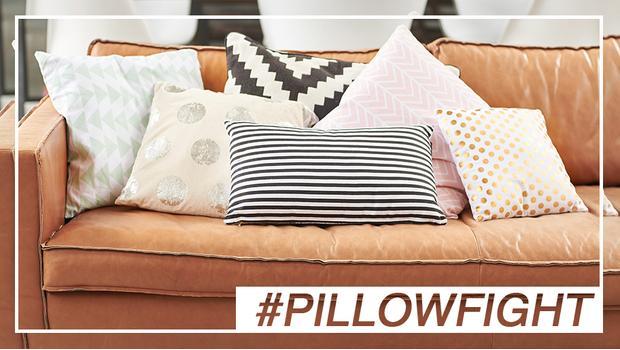 #pillowfight