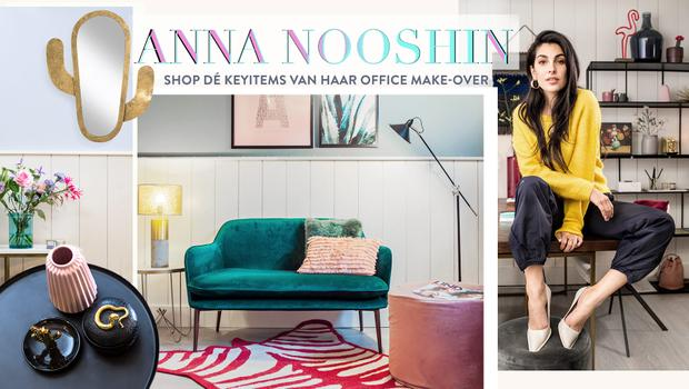 Anna Nooshin's new office