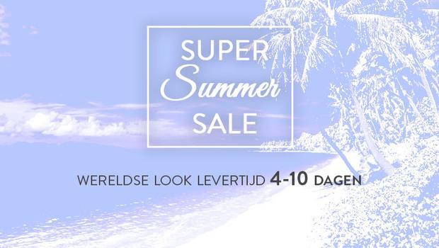 Summer Sale-Wereldse look