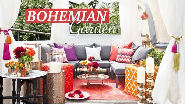 Bohemian garden
