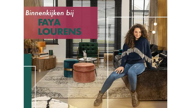 Binnenkijken bij Faya Lourens