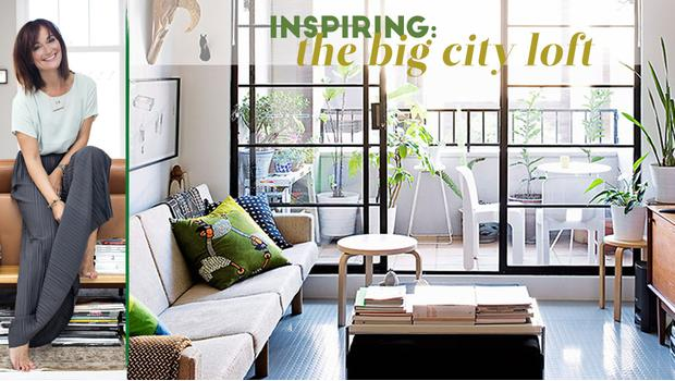 City life: industrial loft