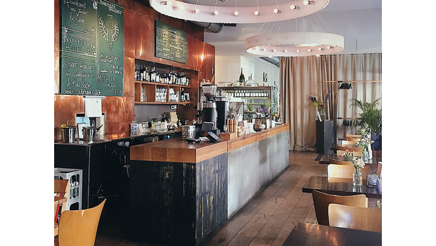 Industrieel koffiehuis