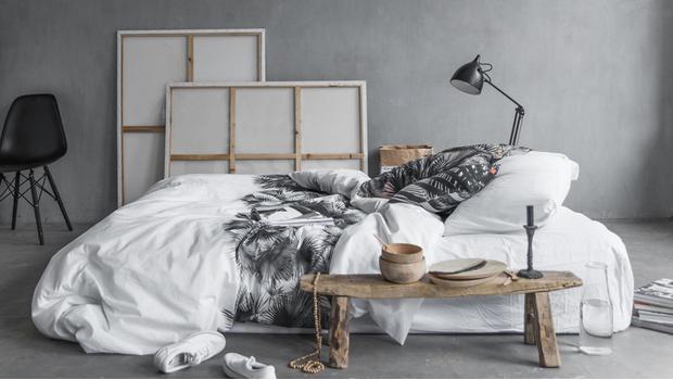 De hippe slaapkamer