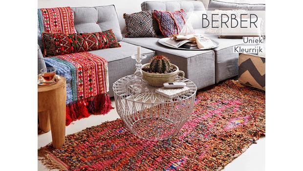 Berber vloerkleden