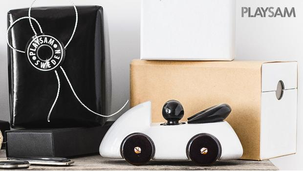 Houten design-speelgoed