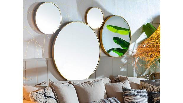 De ronde spiegel