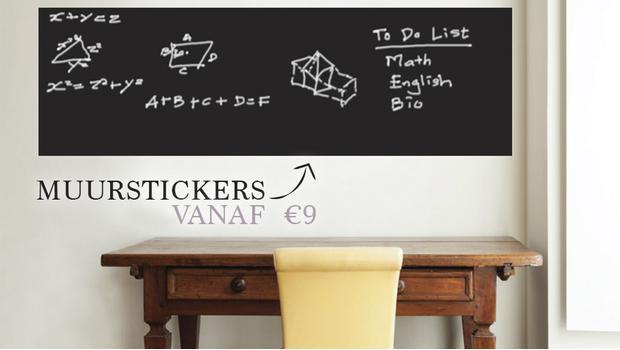 Sticker Sticker on the Wall...