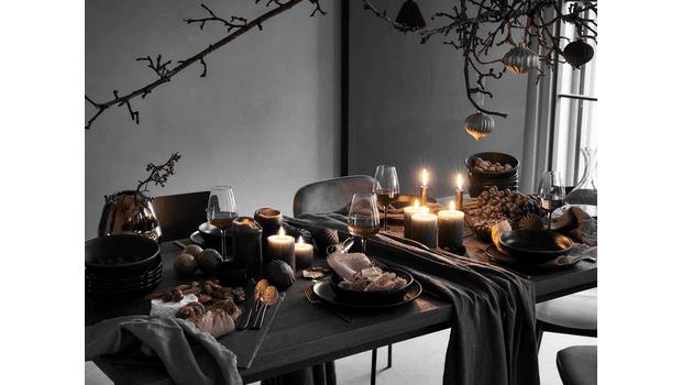 Een mysterieuze tafelsetting