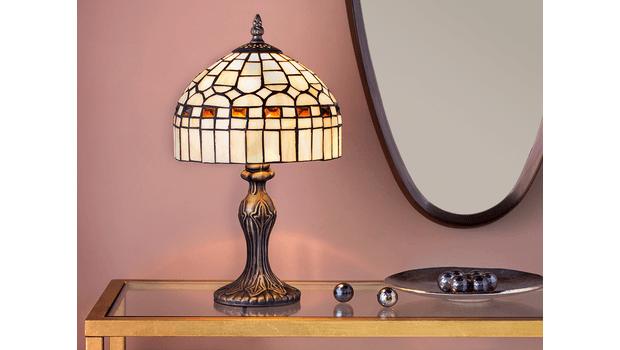 Knappe glas in lood lampen