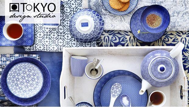Tokyo Design Studio Servies.Tokyo Design Studio Porseleinen Servies In Hippe Prints