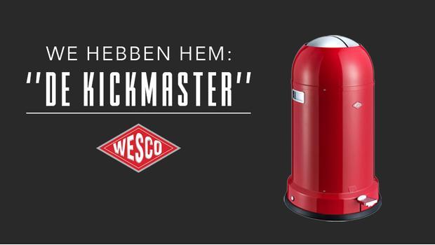 Wesco Kickmaster Roze.Wesco Iconische Prullenbakken Broodtrommels Meer Westwing