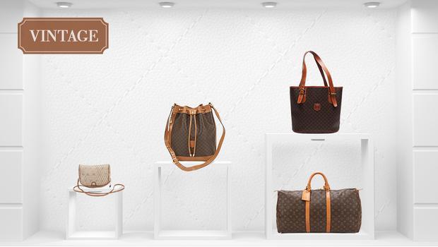 Louis Vuitton, Gucci & Dior