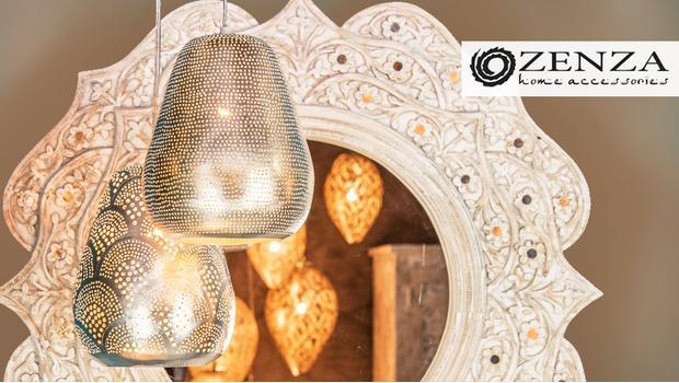 Wonderlijk Zenza Lampen en kussens met Marokkaanse flair | Westwing DB-69