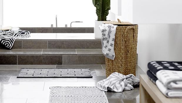 Fashionable bathroom