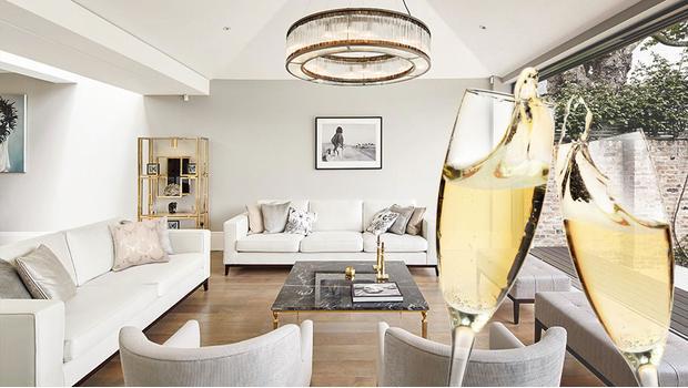 W kolorach szampana