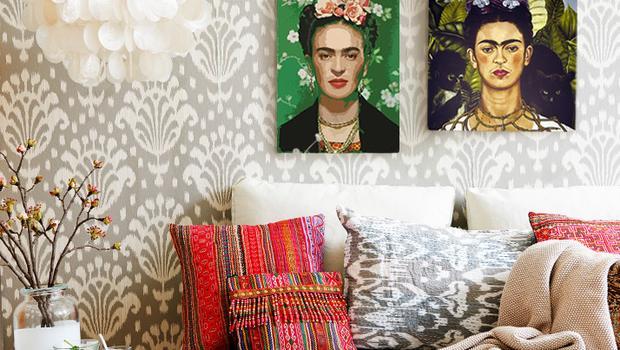 Kolorowa Frida Kahlo