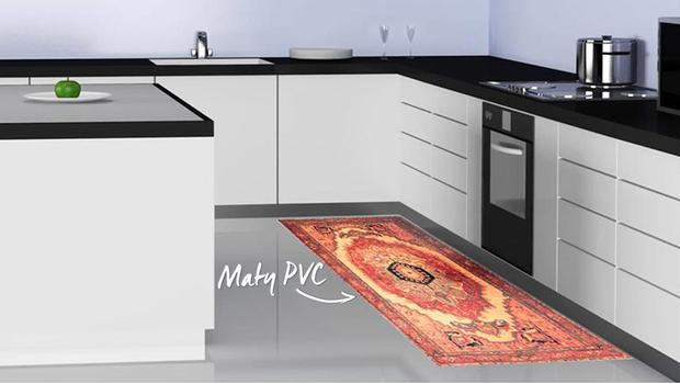 Innowacyjne dywany z PCV