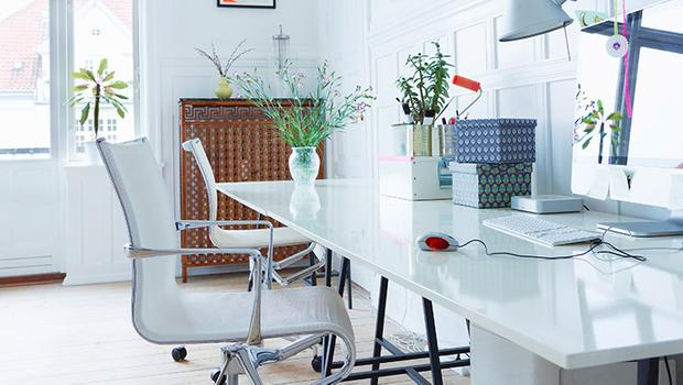 Kreatywne domowe biuro