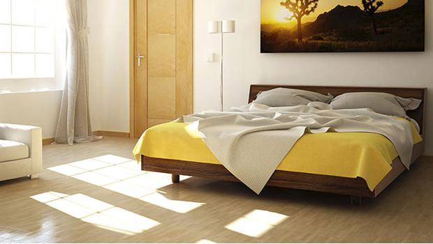 Barwna sypialnia