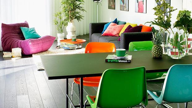 Modern z kolorem