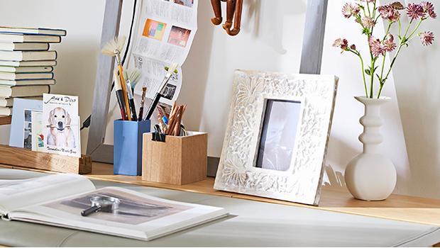 Cadre photo bois emde à accrocher poser pêle mêle