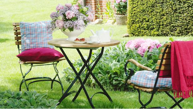Ogród pachnący latem