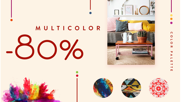 Color palette: MULTICOLOR