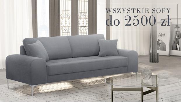 Sofy i fotele do -70%