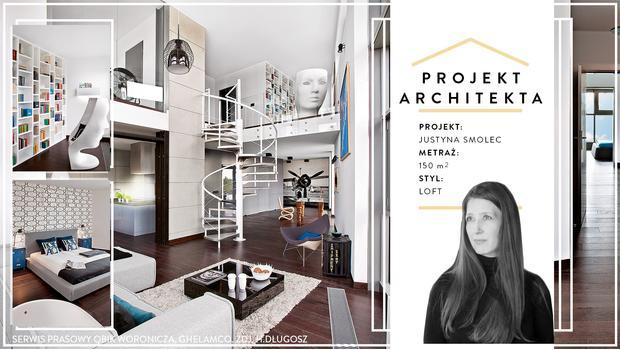 Mieszkanie w stylu soft loft