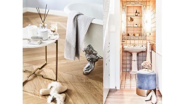Piękna i praktyczna łazienka