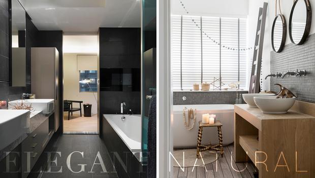 Łazienka w 2 stylach