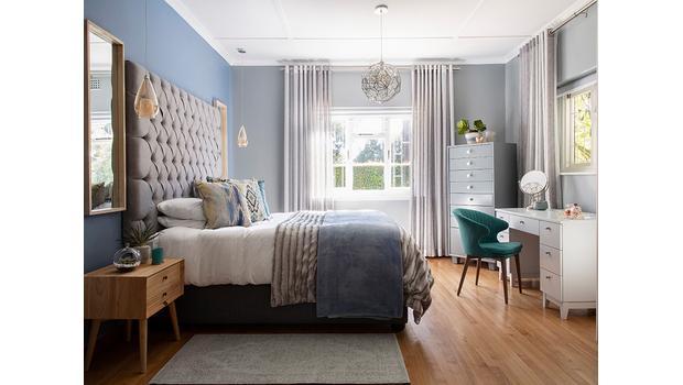 Przestrzeń wokół łóżka
